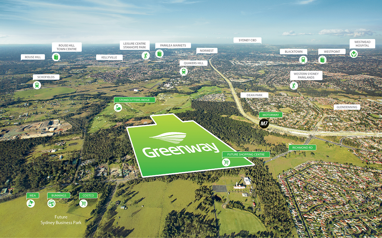 Location map_Greenway_Greenfield Development